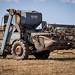 GKP 173D Ransomes combine harvester