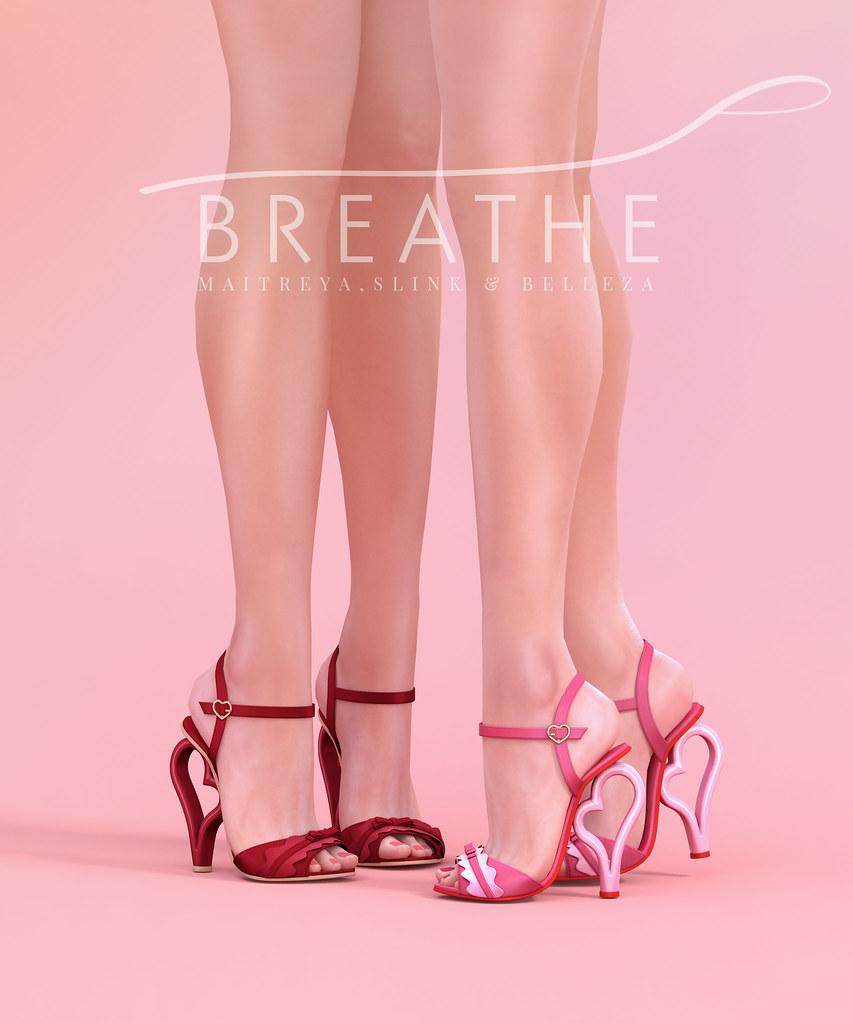 [BREATHE]-Lian Heels - SecondLifeHub.com