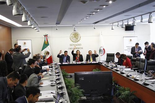 Primera Comisión de la Permanente 15/ago/17