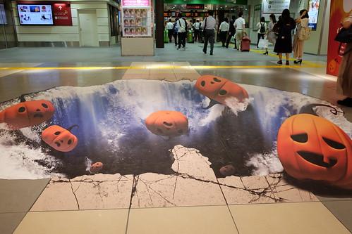 東京駅一番街ワンダートリックハロウィーン 11