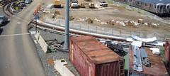 New loop at NYCT 7 Line Corona Yard