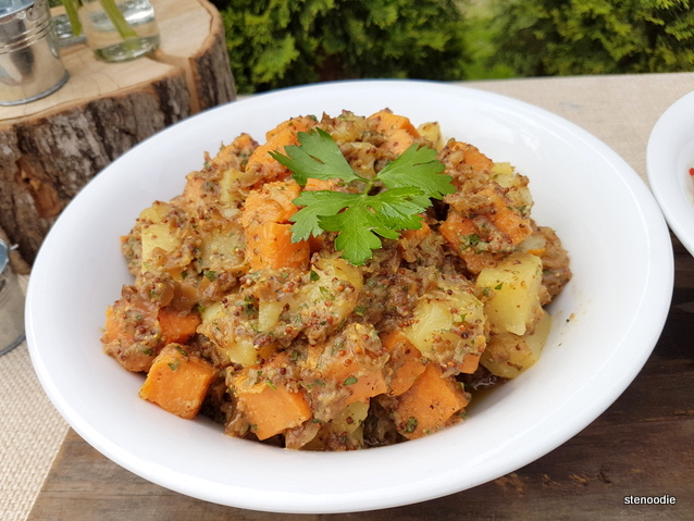 Yukon Gold & Sweet Potato Salad