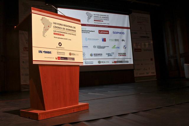 Foro Regional de Lideres de Gobierno Perú 2017