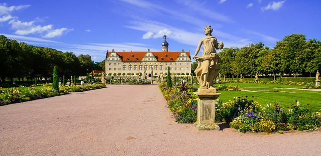 Weikersheim Palace and gardens