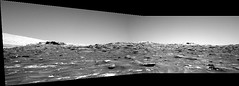 Mount Sharp and Nearby Sand