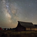 Mormon Row Barn & Milky Way (Canon 6D) by Jeffrey Sullivan