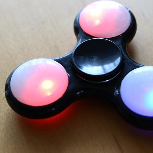 LEDで光るスピナー