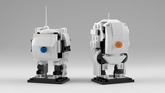 [LDD] BrickHeadz Portal 2: ATLAS & P-Body