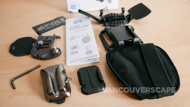 SpiderLight Backpacker Set-5