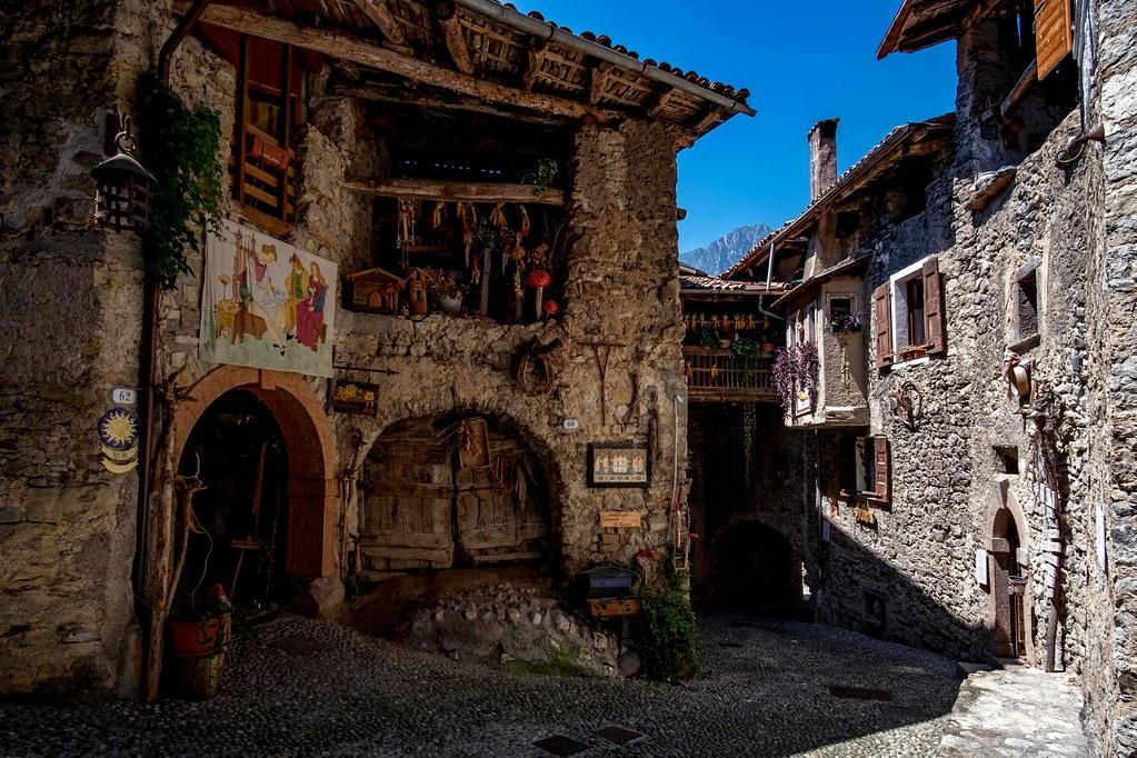 Ville del monte map trentino italy mapcarta for Monti del trentino