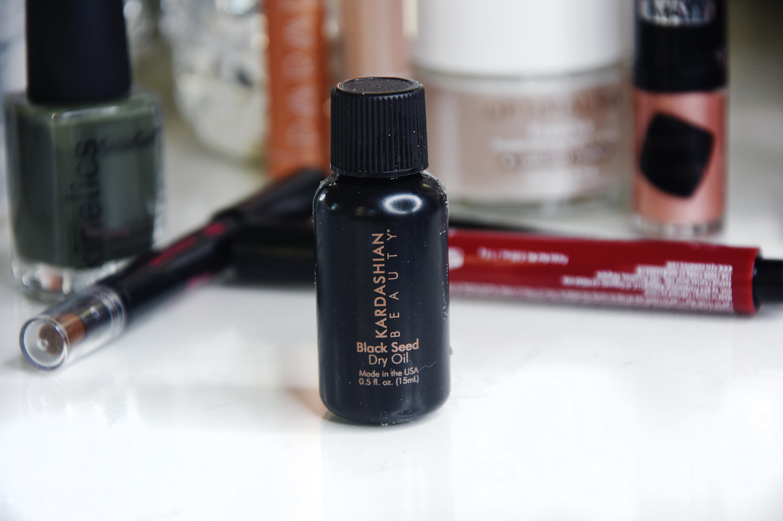 Kardashian beauty black seed dry oil review