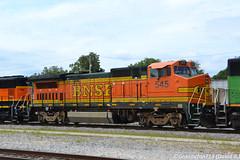 BNSF 545 GE B40-8W