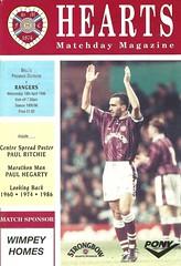 Heart of Midlothian v Rangers 19960410