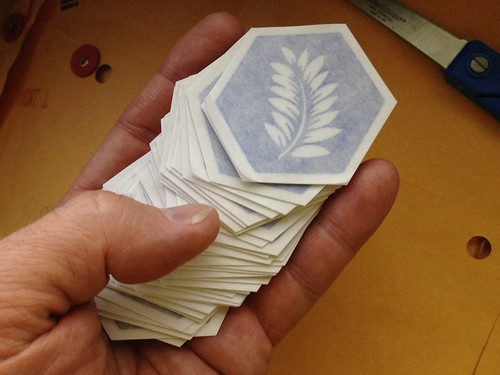 Cyanotype Stickers