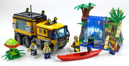 LEGO City Jungle 60160 Jungle Mobile Lab 51
