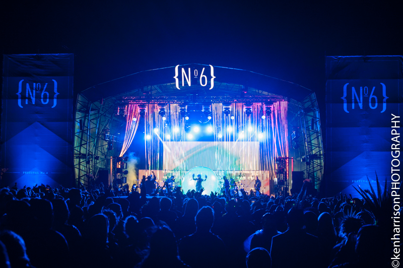 The Flaming Lips close Festival No.6, Portmeirion, Wales, UK on Sunday 10th September, 2017.