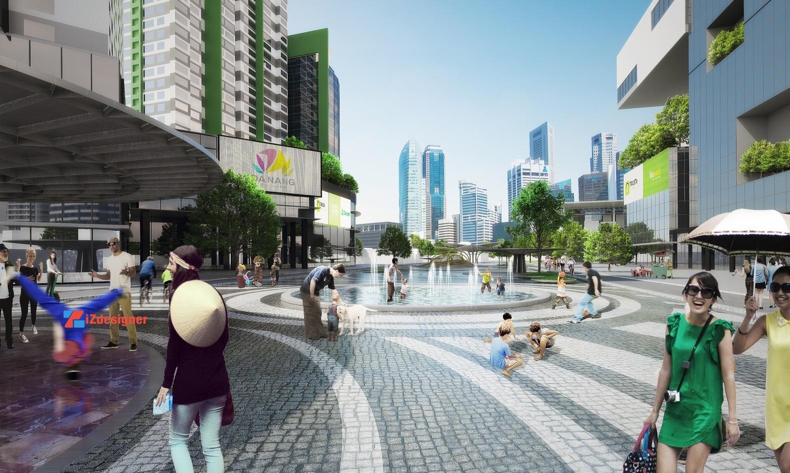 Dự án quảng trường Hoa Sen tại Đà Nẵng