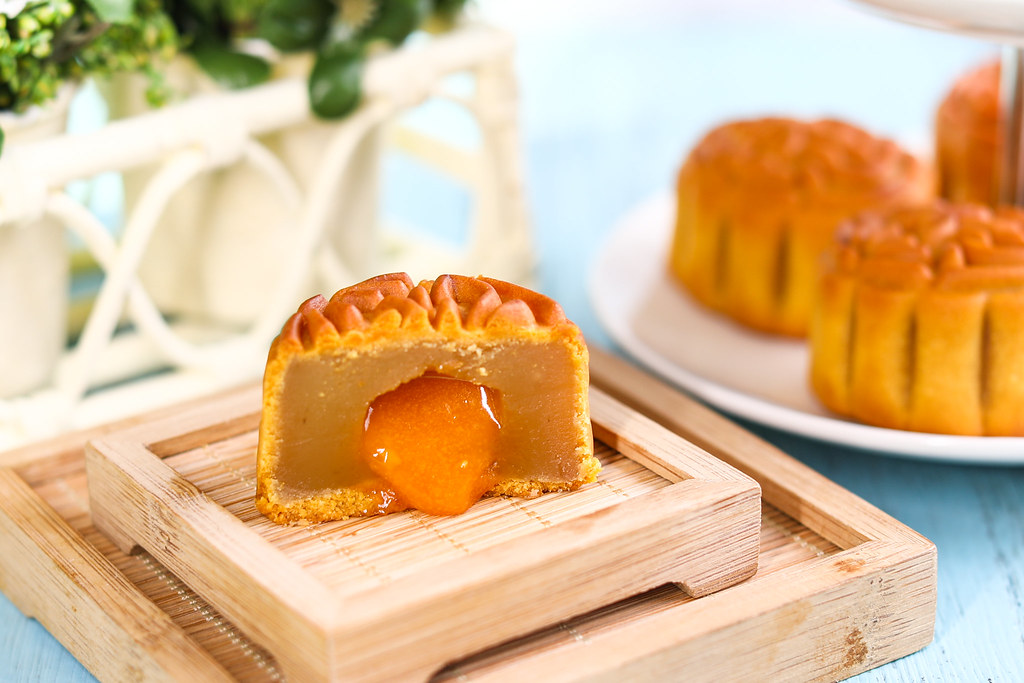 香港美心月饼:熔岩蛋黄