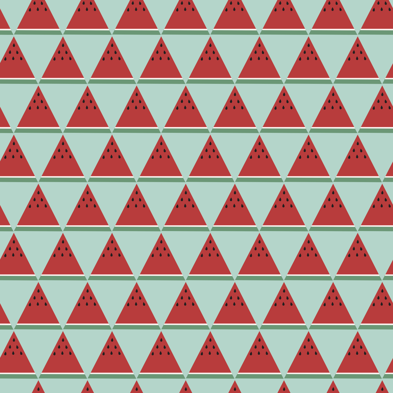 abstract watermelons seamless repeat