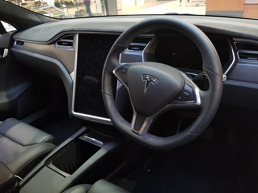 Tesla Model S P100D interior   Great interior, although I'd …   Flickr