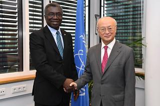 Kwabena Frimpong-Boateng & Yukiya Amano (01116478)
