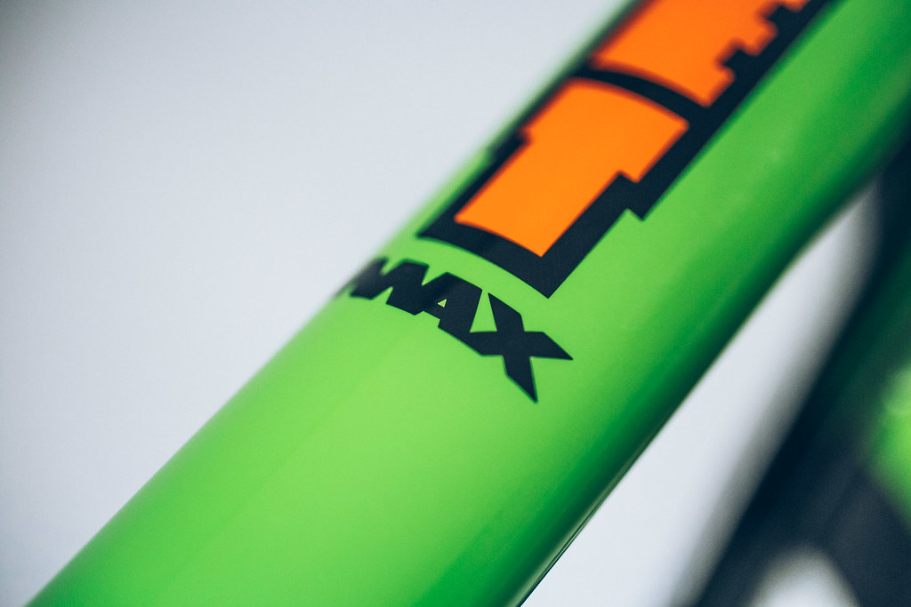 RocketMAX, steel full suspension