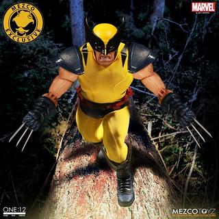 「新增官圖!!」MEZCO – ONE:12 COLLECTIVE 系列 2017秋季限定!!【金剛狼】Marvel Wolverine 1/12 比例人偶作品