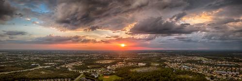 venice florida unitedstates us mavicpro sunset aerial clouds cloudsstormssunsetssunrises