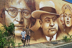 John Lennon , Al Capone , & Marilyn Monroe ... An odd grouping