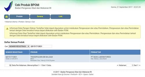 BPOM Transpulmin