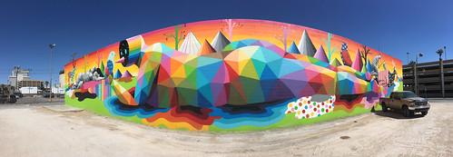 @Okudart Mural @ Las Vegas 09.2017