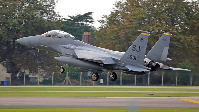89-0501 SJ F-15E EAGLE, Canon EOS 5D MARK III, 150-600mm F5-6.3 DG OS HSM | Sports 014