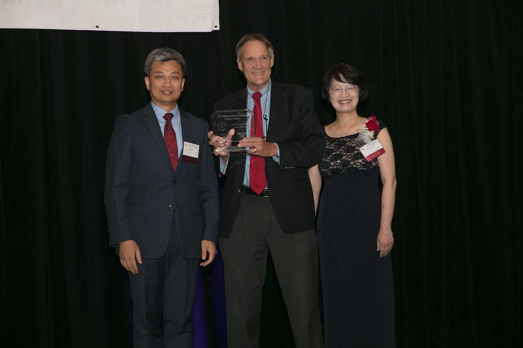 Mark Carpenter receiving the CIE Centennial Award