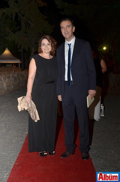 Raşit Sadullahoğlu ve eşi