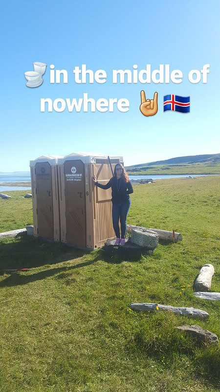 Bathrooms in the middle of nowhere