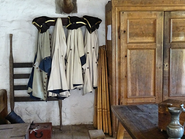Officers quarters coats