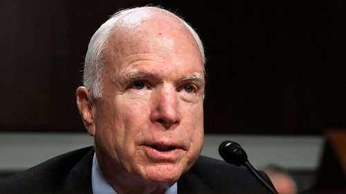 McCain calls brain cancer prognosis very poor
