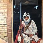 Shane Bryant; Bedouin Sniper; Oil; 2016 -