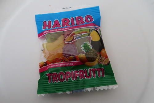 Frucht- und Weingummi TROPIFRUTTI (von HARIBO)