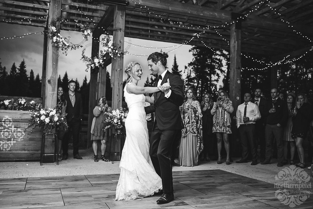 First Dance - Prince George BC Wedding