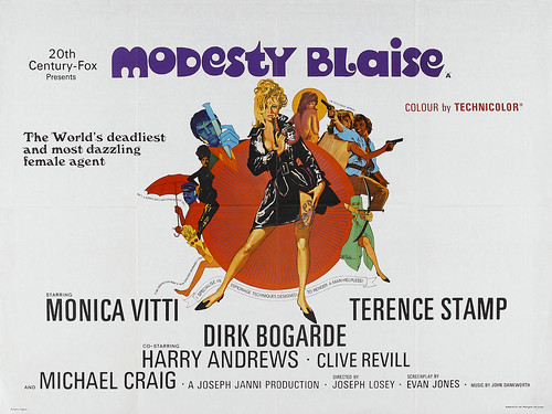 Modesty Blaise - Poster 1
