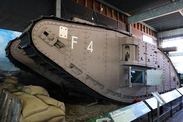 World War 1, MkIV Tank