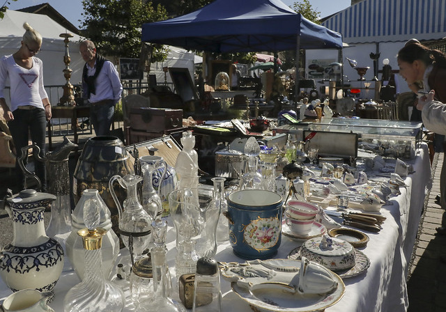Belleme Antique Market, Peche