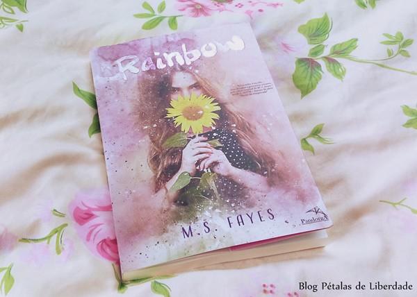 Livro Rainbow, M S Fayes, Editora Pandorga, trechos, citação, diagramação, fotos, opiniao, resenha