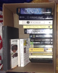 A slightly less full TBR box. #boutofbooks