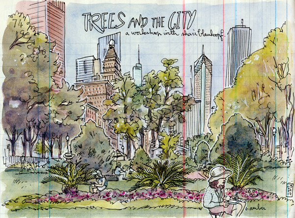 trees and the city's workshop