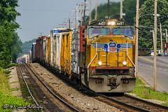 UP 4457 | EMD SD70M | NS Memphis District
