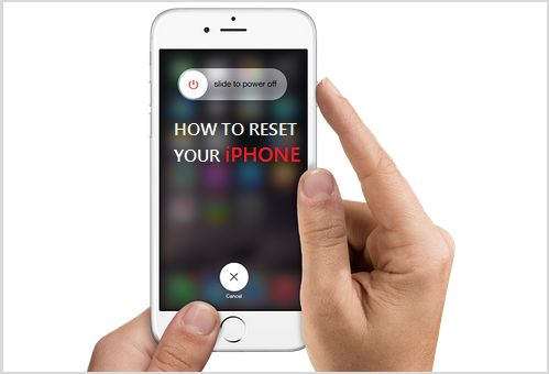 Reset iPhone