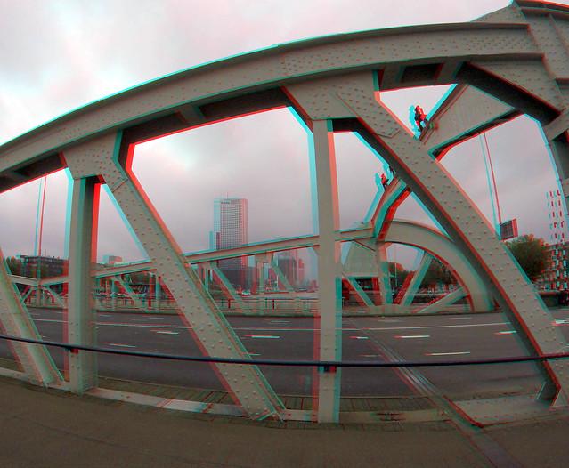 Koninginnebrug Rotterdam 3D
