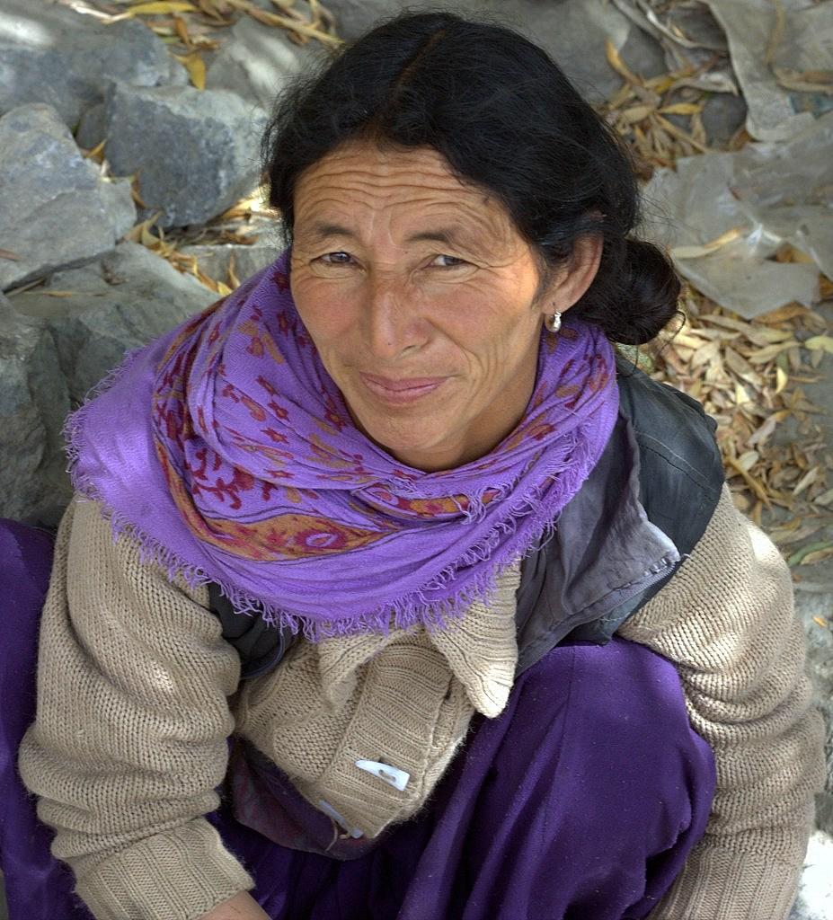 A local woman near Leh